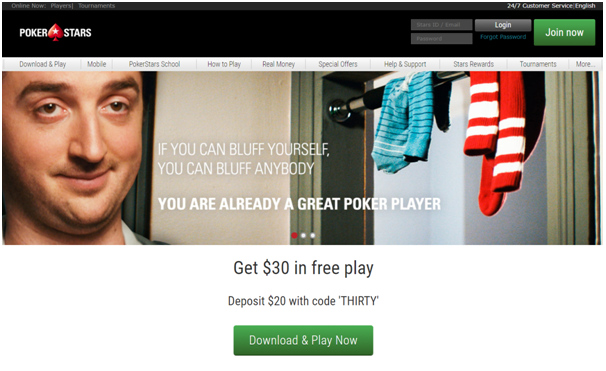 BetStars poker