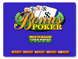 Bonus Poker Multihand