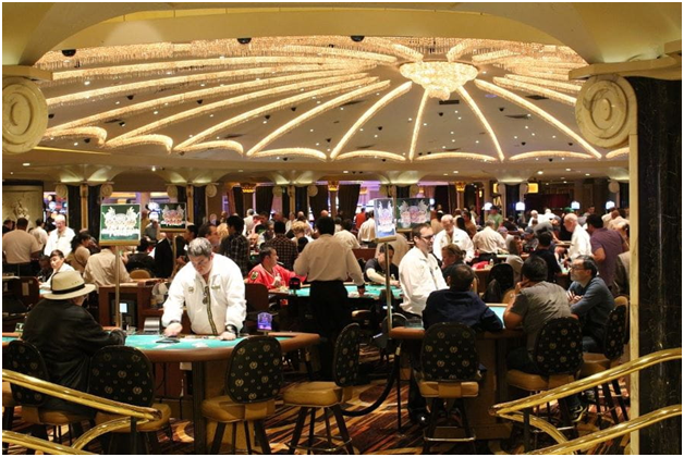 Crown Casino Gaming Floor