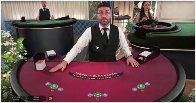 NetEnt BlackJack Tables