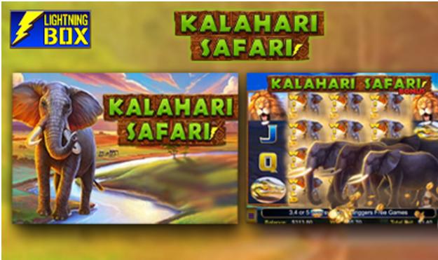 New Kalahari Safari Slot added to Lightning Box Games