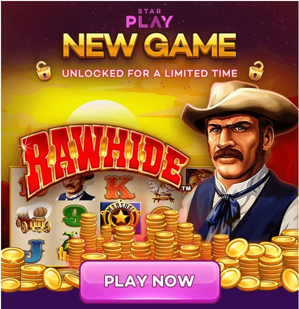 Play Rawhide slot machine at Star Play