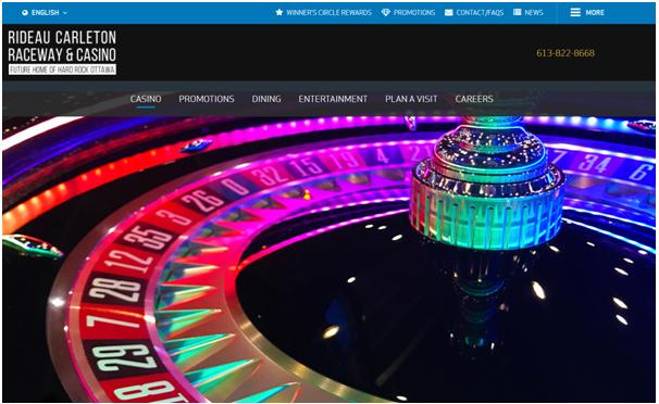 Rideau Carleton Raceway casinos