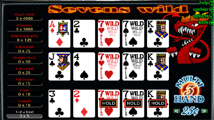Sevens Wild- Multihand