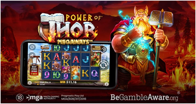 Thor Megaways – The new slot from Pragmatic Play Launched